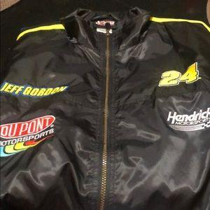 NASCAR Jeff Gordon patch jacket, size XL